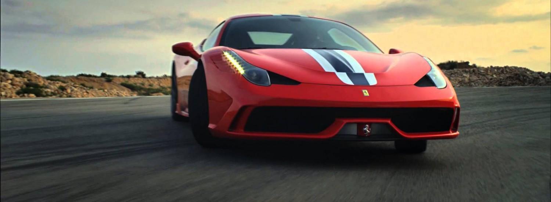 Slider 1 - Ferrari 458 speciale