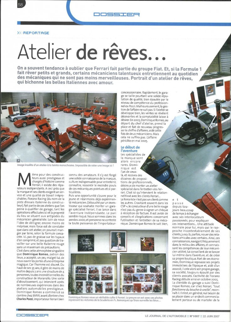 Le journal de l'automobile 1