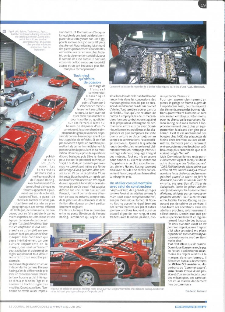 Le journal de l'automobile 2