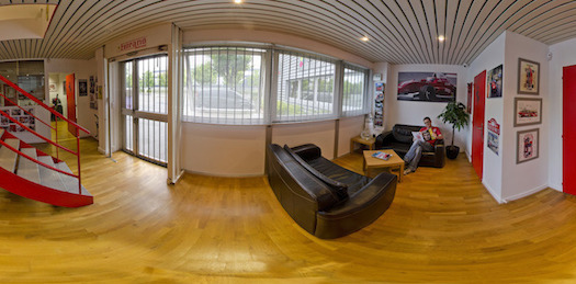 Visite virtuelle 360° Fiorano Racing